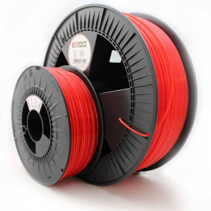 2.85mm Premium ABS - Flaming Red 2300gr (Sale)